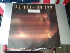 Prince - For You LP 1988 Warner Bros. Records WB K 56 989