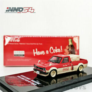 INNO64 1:64 Nissan Hakotora Cola Farmer Truck w/Accessories of cargo Model Car#