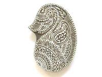 Indischer Holz Stempel Paisley Nr. 1427 Stoffstempel,Wandstempel,Tattoostempel