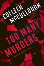 TOO MANY MURDERS A Carmine Delmonico Novel, McCullough, NEW, HC,  1ST EDITION!!