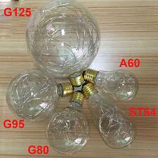 Vintage Design A19 G25 G95 ST64 G125 Edison Fairy Filament LED Bulb E27 6 Colors