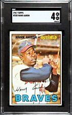 1967 Topps Hank Aaron #250 SGC 4