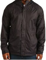 DC Men's Bout Hooded Black Jacket Size S, M, L, XL, XXL Available-Brand New