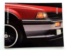 1987 Honda Original Accessories Car Brochure Catalog - Civic Accord Prelude CRX