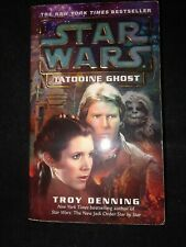 Star Wars Tatooine Ghost Troy Denning 2004 science fiction Novel book mmpb leia