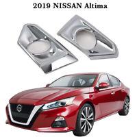 for 2019 2020 TOYOTA AVALON REAR FOG LIGHT LAMP COVER TRIM ABS PLASTIC SILVER