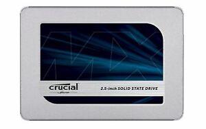 Crucial SSD 1 TB, 500 GB, 250 GB, MX500 BX500 Up to 560 MB/s SATA 2.5 Inch
