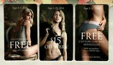 VICTORIA'S SECRET Fearless ( 3 ) 2014 Promotional Cards ( $0 - EXPIRED )
