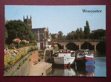 POSTCARD WORCESTERSHIRE WORCESTER - NORTH QUAY