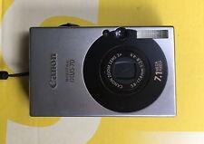 Canon Digital IXUS 70 / PowerShot SD1000 7,1 MP + 2GB + Etui - Silber / Schwarz