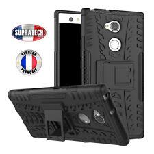 Coque de Protection Noir Rigide Renforcé Anti-Choc pour Sony Xperia L2