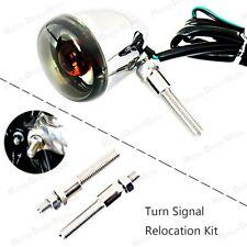 1Pair Turn Signal Relocation Kit For Harley 2002-2016 Sportster XL Fork Model