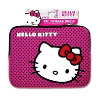 "Hello Kitty 12"" Netbook Neoprene Sleeve w/ Zipper"