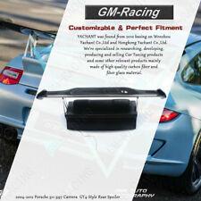 Carbon Fiber Spoiler w/ FRP Base GT4-Style For 2004-2012 Porsche 911 997 Carrera