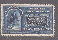 U.S. STAMP #E5  — SPEC DEL  w/LINE & DL WMK - 1895 -  USED