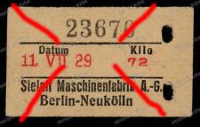 Karte-Präzisionswaage-Sielaff-Maschinenfabrik-Berlin-U-Bahn-Wedding-1929-