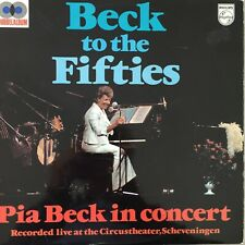 PIA BECK: Beck to the Fifties - In Concert (NL DLP Philips Stereo 6677 031 /FOC)