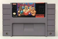 SNES Super Punch-Out!! Game Cart *Authentic/Cleaned/Tested* *New Save Battery*