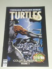 TEENAGE MUTANT NINJA TURTLES COLOR CLASSICS VOL 3 #13 IDW COMICS