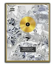Future Drake Poster, GOLD/PLATINIUM CD, gerahmtes Poster Rap HipHop