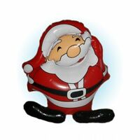 NOVELTY INFLATABLE SANTA CLAUS CHRISTMAS DECORATION TOY BLOW UP XMAS GIFT 50cm