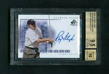 2002 Raymond Floyd UD SP Game Used Scorecard Signatures On-Card Auto BGS 9.5 GEM