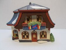 Dept 56-5614-6 Alpine Village, Bakery & Chocolate Shop Retired new c