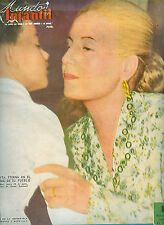 MUNDO INFANTIL # 252 EVA PERON EVITA ON COVER SPANISH MAGAZINE