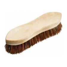 Hand Scrub Brush Wood Handle Stiff Bassine Filament Scrubbing Brush 9 inch