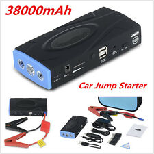 12V 2USB Portable 38000mAh Car Emergency Battery Charger Jump Starter Power Bank