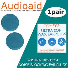 SLEEP - Ear Plugs, 33Db Noise reduction - Custom Moldable, Reusable, Super Soft