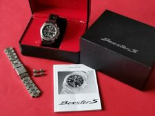 Herren Uhr / Armbanduhr Porsche Boxter S Chronograph Quartz Vollstahl im Fullset