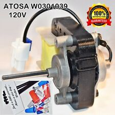 Atosa W0301039 Fan Motor old, Evaporator + Hardware & Instructions, Ships Today!