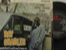 """RAY CHARLES - Take These Chains From My Heart EP ~ 7"""" Single PS"""