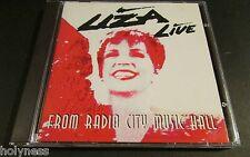 LIZA MINELLI / LIZA LIVE FROM RADIO CITY MUSIC HALL / CD / MINT