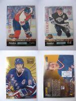 1992-93 Pinnacle 5 of 6 Gretzky Lindros  RED team pinnacle  kings/flyers