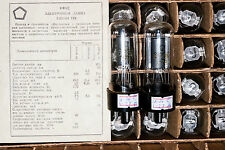 New RARE Matched Pair 6F6S = 6F6G = 6F6 Pentode Tube SAME DATE 70`s