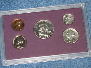 1958 United States Silver Proof Set Gem B8431