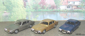 Märklin 18103-02 Ford Capri 1:43 gold/blau/grau-NEU OVP