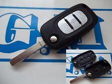 Llave carcasa cubierta cover Clio Megane Kangoo RENAULT haga clic en 3 botones