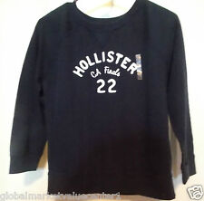 Hollister by Abercrombie & Fitch Women's CA Finals 22 Navy Blue M Sweater NWT