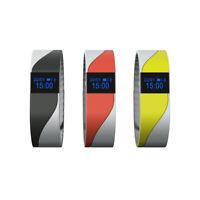 B47C Wasserdicht OLED Tracking Fitness Armband Uhr Herzrfrequenz Blutdruckmesser