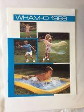 1988 WHAM-O Full Line Toy Fair Catalog Frisbee Flying Disc Slip N Slide Vintage