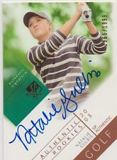 SP Authentics 2003 Golf Great Natalie Gulbis Autographed Certified 1965/1999! |