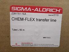 SIGMA-ALDRICH 60-Inch CHEM-FLEX 106 Transfer Line 12G SS Needles Z281751-1EA