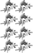 8 X CLP15 50 mm Medio Acoplador de Chauvet Truss Aparejo Abrazadera 48 Mm - 51 mm