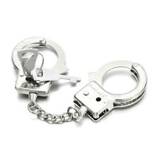 Creative Handcuffs Shaped Key Chain Keychain Key Ring Holder Metal Jewelry New