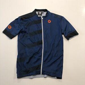 Pactimo Cycling Jersey Men's Medium NWOT Navy Blue Full Zip