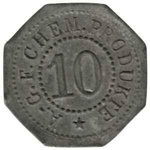 ALLEMAGNE - LANDSHUT - 10.1 - AGF CHEM PRODUKTE -Monnaie de nécessité 10 Pfennig