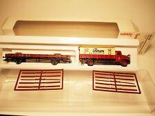 """DB 401 123 Niederbordwagen + LKW """"Boeson"""", Märklin Marklin #46361 1:87 H0 boxed!"""